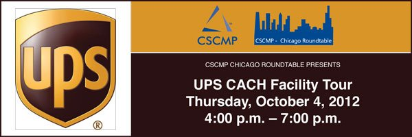 Chicago Roundtable UPS CACH Tour