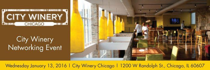 City Winery Networking event