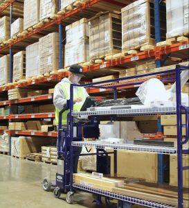IKEA warehouse worker